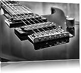 Best guitare électrique pas cher - Pixxprint Noir Guitare électriqueArt Toile 100x70cm Murale XXL Review