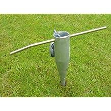 Soporte para paraguas/paraguas holder/Soporte para paraguas de metal/Spike para atornillar/Secadora de ropa giratorio Soporte/Stand/Pole Mount,–Tornillo socket de suelo metal
