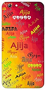 Ajija (Victorious) Name & Sign Printed All over customize & Personalized!! Protective back cover for your Smart Phone : LG G2 Mini