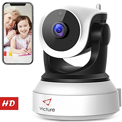 Victure 720P HD WLAN IP Ãœberwachungskamera Test