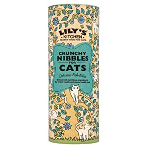 Lily's Kitchen Crunchy Nibbles for Cats with Fish 400g