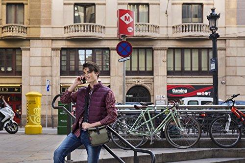 Tatay Urban Food Roll & Go Bolsa Porta Alimentos, Tela, Verde, 6x22x28 cm