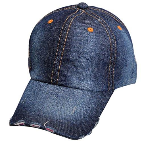 Belsen filles chapeau de cowboy unisexe Baseball Trucker Cap bambino blu marino