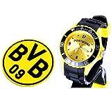 TV-24 Dortmund Armbanduhr + Borussia Dortmund BVB Bierdeckel