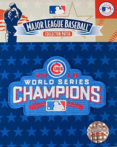 2016 WORLD SERIES CUBS CHAMPIONS PATCH BY EMBLEM SOURCE CHICAGO CUBS 2016 CHAMPS JERSEY PATCH by Emblem Source (Champs-patch)