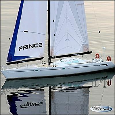 Rc Segelboot Segelschiff Prince Regattayacht 2,4 GHZ von Amax