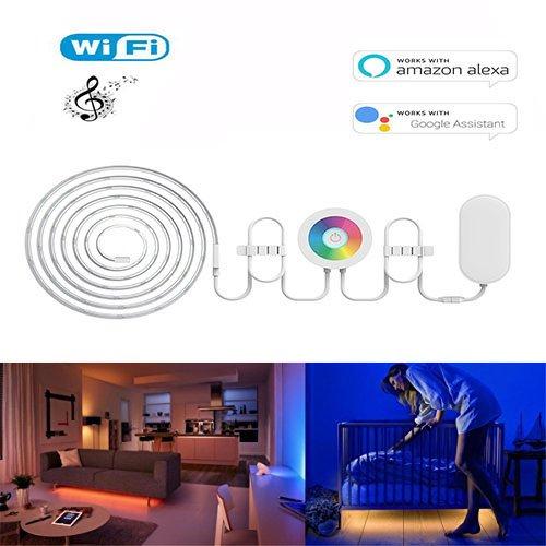 WiFi Smart bande LED – Amazon Alexa et Google Home