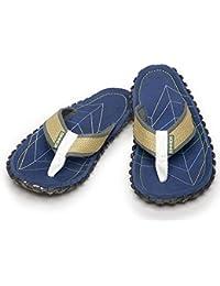 NUEVO Hombre/Caballeros Azul Tira Para Dedo Sandalia estilo Sandalias -azul- GB Tallas 6-12