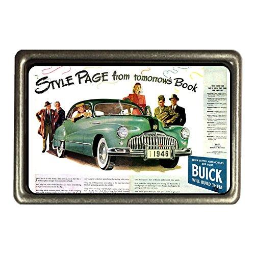 cadora-fibbia-della-cintura-fibbia-vintage-retro-pubblicita-buick-auto-car-verde-green