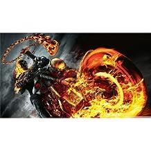 Ghost Rider Spirit of Vengeance (43inch x 24inch / 107cm x 60cm) Silk Print Poster - Seide Plakat - 0F5246