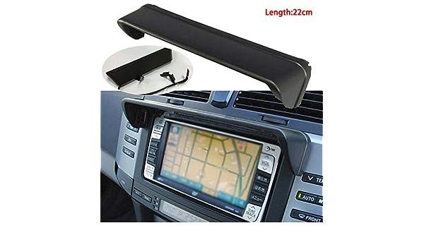 Universal 22cm Anti-glare Car Dash Radio Sun Shade GPS Navigation Hood Cap Mask