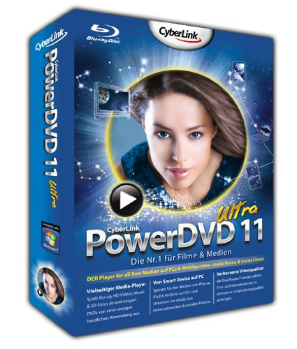 PowerDVD 11 Ultra 3D - Special Edition mit 3D Brille, Lovefilm-Voucher und Android App