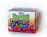 Frutti Instant Getränkepulver ohne Zucker - Geschmackrichtung: Forest Fruit Waldfrüchte 24er Packung