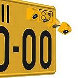 GOGO ROADLESS Car Rear View Camera Night Vision 170 Degree High Definition Rear-view Back-up and Parking Camera Waterproof Truck Car Rear View Camera,Yellow