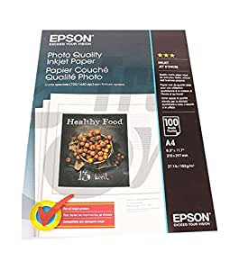 Epson Ink Jet Papier papier photo blanc A4 (210 x 297 mm) 102 g/m2 100 pc.