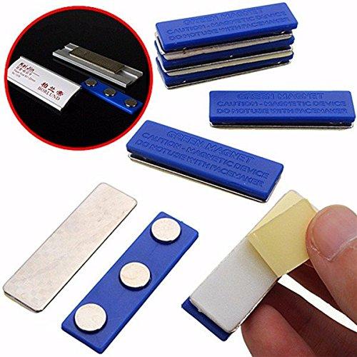 Calli Magnetische Namensschild Abzeichen Fastener ID Halter Magnet Strong Badge Holder Magnet (Magnet Badge-halter)