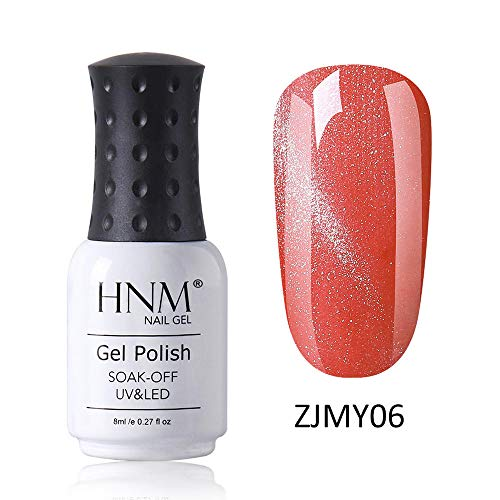 HNM Vernis Semi-Permanent Starry 3D Oeil de Chat Gel Vernis À Ongles Vernis UV Couleur LED Soak Off Salon De Manucure 8ML ZJMY-06