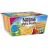Nestlé p'tits fruits pomme orange 4x100g dès 6 mois - ( Prix Unitaire ) - Envoi Rapide Et Soignée