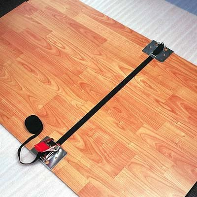 Unika Pro Tension Strap for Solid Wood Flooring - Black - low-cost UK light shop.