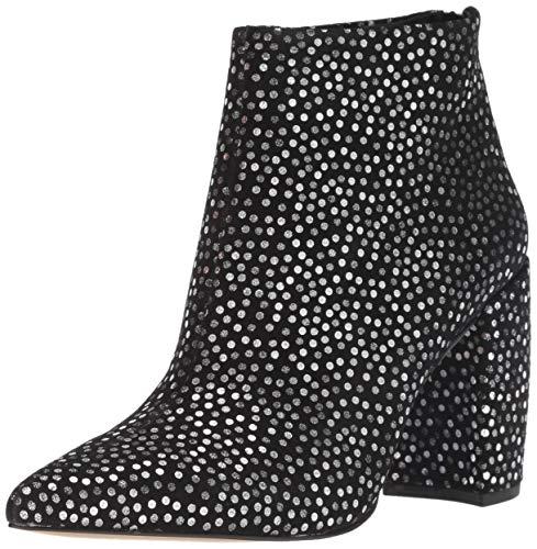 Kenneth Cole Damen Alora Bootie Stiefeletten, Schwarz (Black/Silver 008), 41 EU - Pointy Toe Boot