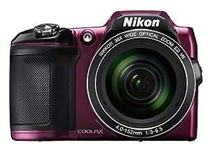 """Nikon Coolpix L840 Appareil photo numérique compact 16 Mpix Écran LCD 3"""" Zoom optique 38X Violet"""
