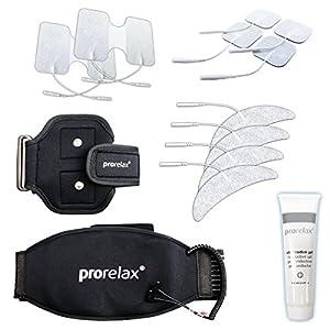 prorelax – Umfangreiches Zubehör-Set für TENS und EMS-Geräte