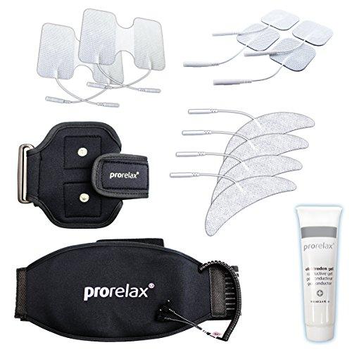 prorelax - Umfangreiches Zubehör-Set für TENS und EMS-Geräte