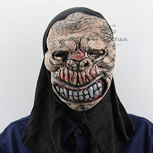 Adult Skull Halloween Mask Haunted House Dance Party Props Soft Horrible Ghost Masks for Party Carnival Horror Mask,4