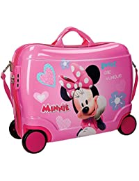 Disney Minnie Fabulous Equipaje Infantil, 50 cm, 34 Litros, Rosa