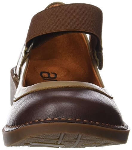 ART Damen 0926 Memphis Bergen Closed-Toe Ballerinen Braun (Brown)