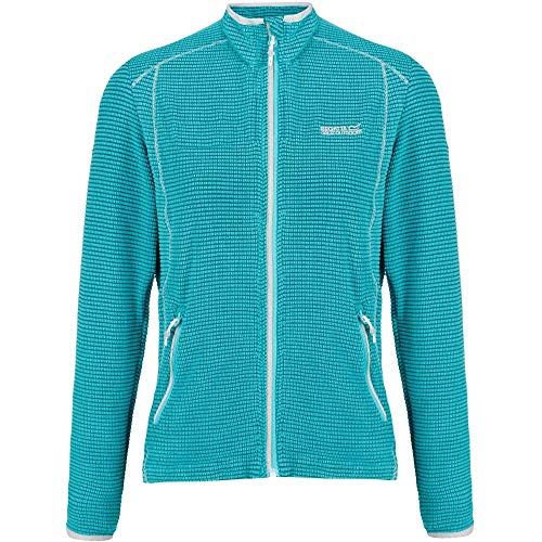 51Dp78AA%2BNL. SS500  - Regatta Womens Willett Full Zip Lightweight Stretch Grid Fleece