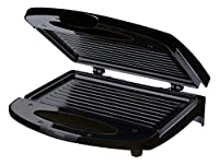 Chefman RJ01-CONTACT-B Compact Contact Grill, Black