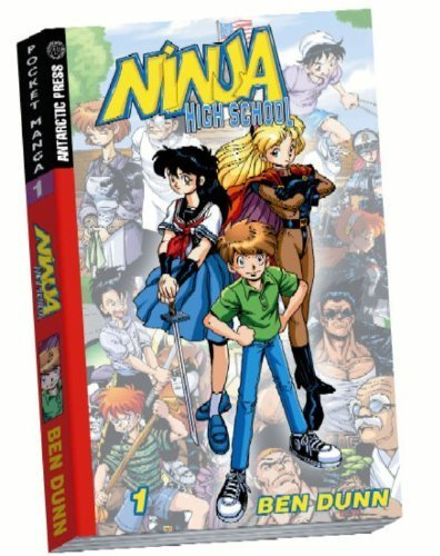 Ninja High School Pocket Manga #1 (Ninja High School (Graphic Novels)) by Dunn, Ben (2004) Paperback