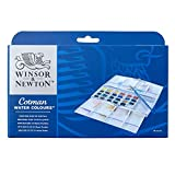 Winsor & Newton Plus 24HP - Acuarelas diluible en agua (24 colores)