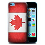 Coque de Stuff4 / Coque pour Apple iPhone 5C / Canada/canadien Design / Drapeau...
