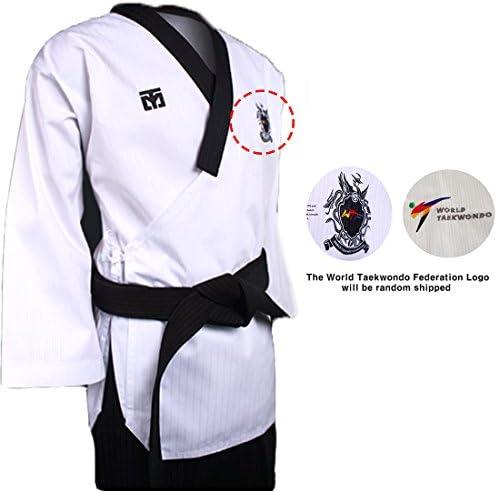 Mooto Poomsae Dare Uniforme dobok kukkiwon Coreano Taekwondo Taekwondo Taekwondo Uomo (140(Altezza  140149cm)(4.594.89ft)) B07KF63N17 Parent | Forte valore  | Materiali Accuratamente Selezionati  | attività di esportazione in linea  | Di Progettazione Professionale  d4feb6