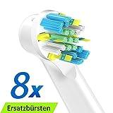 ITECHNIK FlossAction Cabezal de Recambio Para Oral-B Cepillo de...