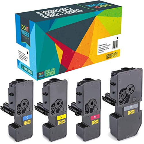 Do it wiser Compatible Toner Cartridge Replacement for Kyocera TK-5240  ECOSYS M5526cdn M5526cdw P5026cdn P5026cdw (4-Pack)