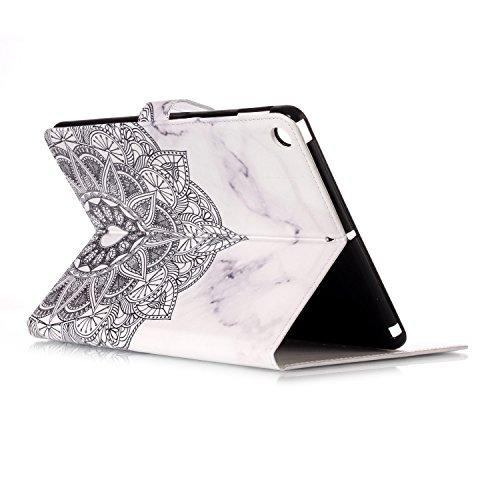 iPad IPad pro 10.5 Custodia per IPAD iPad pro 10.5 inch, inShang Smart Cover case in pelle PU, supporto per tenere L'iPad sollevato, magnetico per sleep e standby + inShang Logo pennino di alta classe Datura flowers