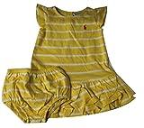 Polo_Ralph Lauren Mädchen Dekolletiertes Kleid Gr. 9 Monate, gelb