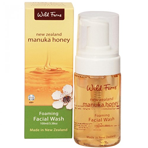 Wild Fern Manuka Honey Refreshing Foaming Facial Wash 100ml