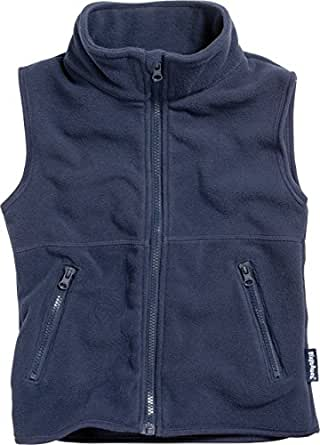 Playshoes Polaire  Sans manche Fille - Bleu - Blau (marine) - FR : 10 ans (Taille fabricant : 140)