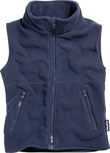 Playshoes Mädchen Weste 420012 aus hochwertigem Fleece, Gr. 98, Blau (Marine)