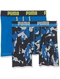 Puma Unterhose Camo Boxer 2P Azul team royal Talla:152
