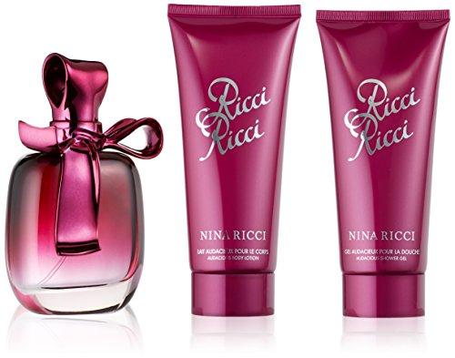 Nina Ricci Giftset EDP Spray 80 ml plus Body Lotion 100 ml plus Shower Gel 100 ml, 1er Pack (1 x 280 ml) -