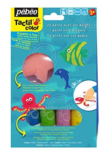 pebeo-kit-gouache-de-peinture-aux-doigts-les-animaux-de-la-mer-4-tubes-20-ml-assorties
