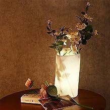 Jarrones de cerámica de artes plásticas Lámpara de mesa Luz de noche