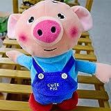 Lorenlli Fit Vibrato Toys Dance Alga Maialino che balla Canta Camminando con il maiale germogliare leggero Giocattoli elettronici per bambini vocali