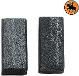 Kohlebürsten für BLACK & DECKER KA186E Schwingschleifer -- 5x5x10mm -- 2.0x2.0x3.9''