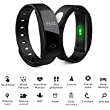 APPLE IPHONE 6 Compatible QS80 0.42 Inch OLED Screen With 120 X 120 Resolution Smart Band Heart Rate Monitor Smartband Blood Pressure Smart Wristband